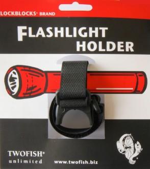 Držák svítilny na kolo Twofish Lockblocks