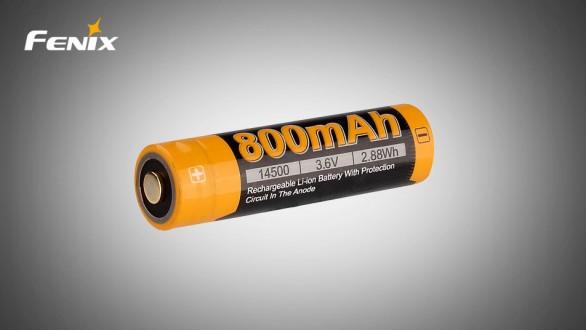 Dobíjecí baterie Fenix 14500 (Li-Ion)