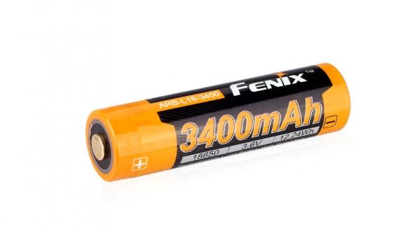 Dobíjecí baterie Fenix 18650 3400mAh (Li-Ion)