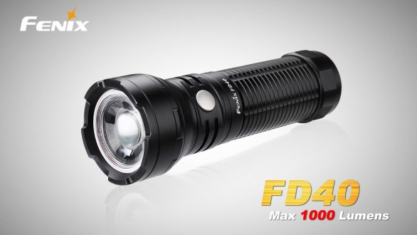LED svítilna Fenix FD40