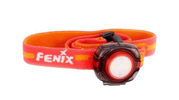 Čelovka Fenix HL05 - červená