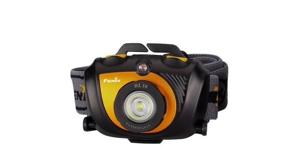 Čelovka Fenix HL30 XP-G2 - černo oranžová