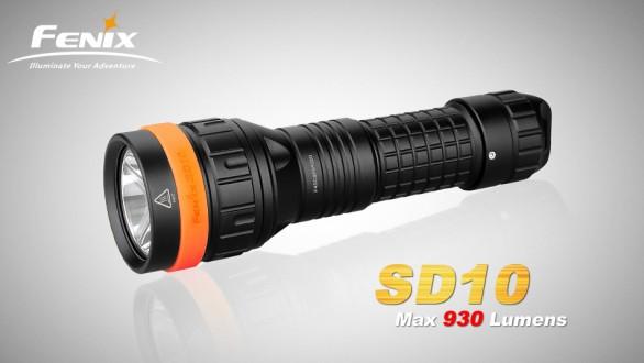 Potápěčská LED svítilna Fenix SD10