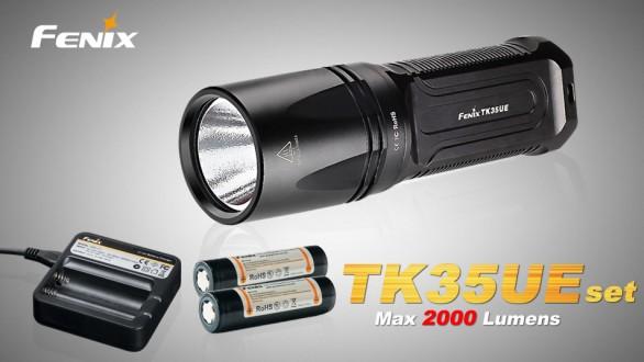 Fenix TK35 Ultimate Edition (2000 lumenů) + nabíjecí sada 2600mAh