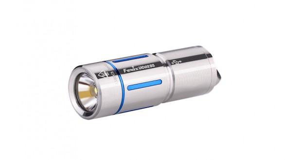 Nabíjecí baterka Fenix UC02SS - modré proužky