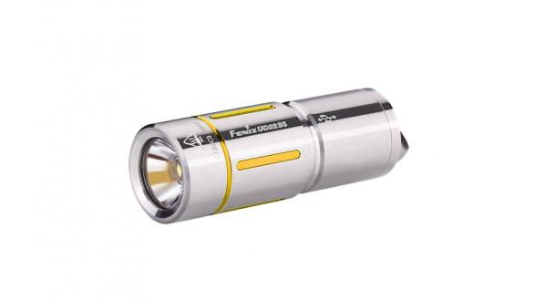 Nabíjecí baterka Fenix UC02SS - zlaté proužky