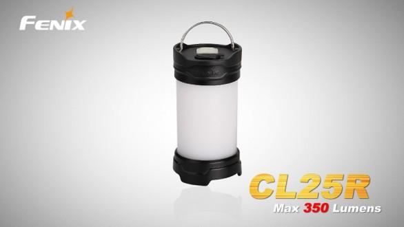 Nabíjecí lucerna Fenix CL25R - černá