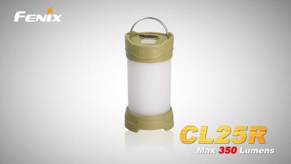 Nabíjecí lucerna Fenix CL25R - olivová