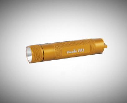 Baterka Fenix E01 - žlutá