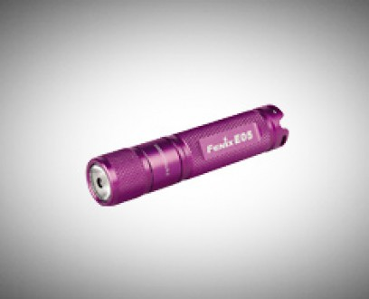 Baterka Fenix E05 XP-E2 - fialová