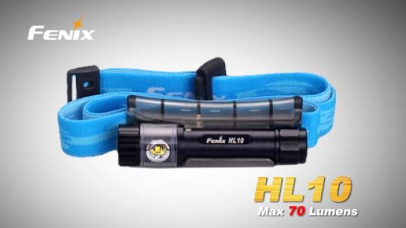 Čelovka Fenix HL10 - černá