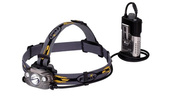 Fenix HP30R nabíjecí LED čelovka - šedá