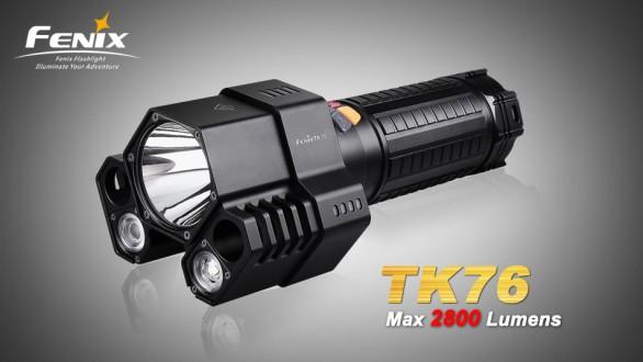 LED svítilna Fenix TK76 3xCree XM-L2