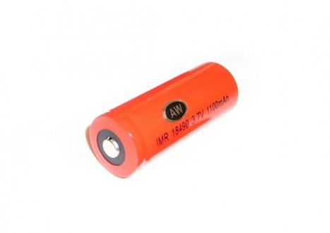 Dobíjecí baterie AW IMR 18490 (vysokoproudová Li-Ion)