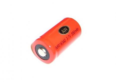 Dobíjecí baterie AW IMR 16340 (vysokoproudová Li-Ion)
