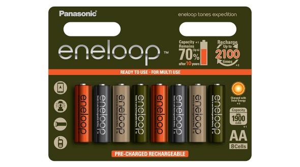 Panasonic Eneloop AA 8ks 3MCCE/8RE, EXPEDITION