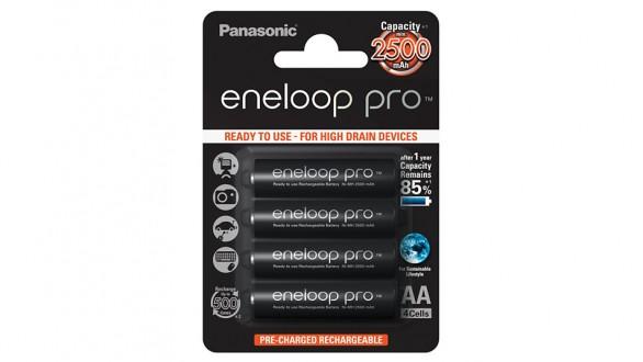 Panasonic Eneloop Pro AA NiMH 4ks