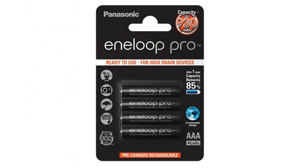 Panasonic Eneloop Pro AAA NiMH 4ks
