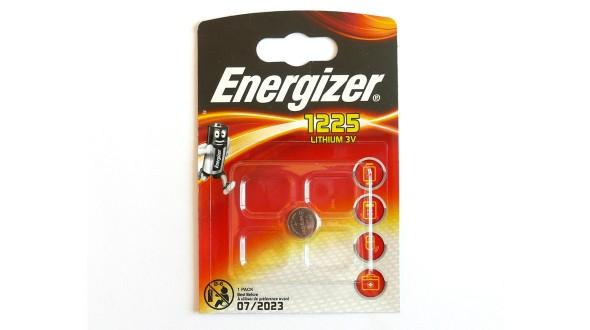 Knoflíková lithiová baterie Energizer BR1225