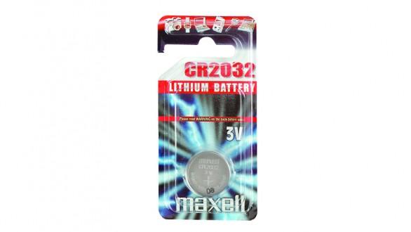 Knoflíková lithiová baterie Maxell CR2032