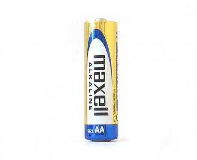 Tužková AA alkalická baterie Maxell 1ks