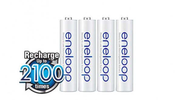Panasonic Eneloop AAA NiMH 4ks 2100 cyklů