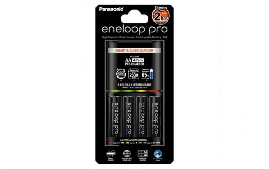 Nabíječka Panasonic BQ-CC55E + 4xAA Eneloop Pro