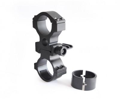 Kovová montáž pro svítilny na puškohled 30 i 25mm