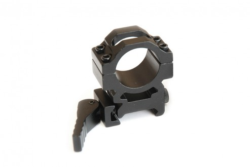 Rychloupínací montáž svítilny na zbraňovou lištu