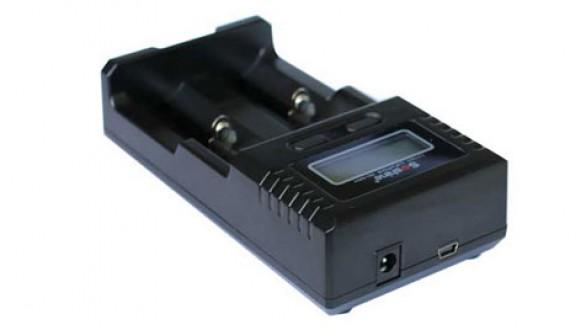 Univerzální nabíječka Soshine H2 s LCD (Li-Ion, NiMH, LiFePo4)