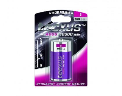 Nabíjecí baterie Tecxus D NiMH 10000 mAh 1ks
