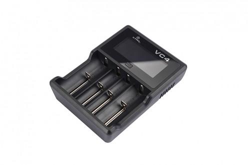 Čtyřkanálová USB nabíječka VC4 s LCD (Li-Ion a NiMH)