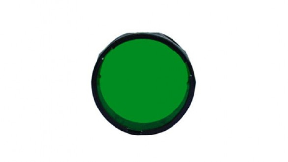 Zelený filtr 34-36 mm pro svítilny Fenix TK09, TK15 a TK16