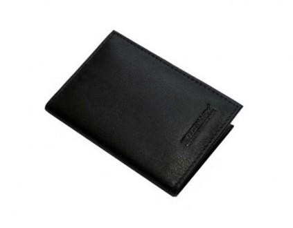 Kožené stíněné pouzdro na 2 + 8 RFID karet