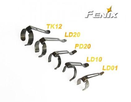 Náhradní spony pro svítilny Fenix - Fenix LD02