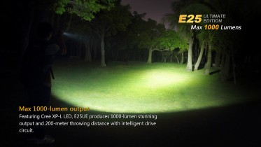 LED svítilna Fenix E25 Ultimate Edition